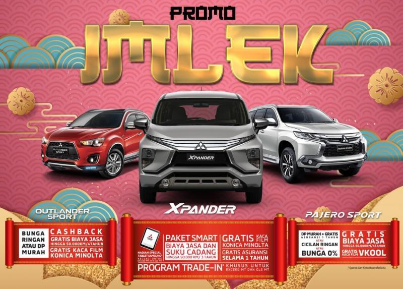 Program penjualan ini berlaku untuk kendaraan penumpang Xpander, Pajero Sport, Outlander Sport,Triton 4X4, Triton 4X2, L300 dan T120SS.