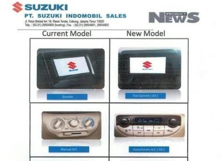 Belum lagi baru-baru ini, tersebar bocoran isi dari materi pelatihan tenaga penjual berisi penyegaran dari All New Suzuki Ertiga yang kabarnya akan meluncur dalam waktu dekat.(foto: istimewa)