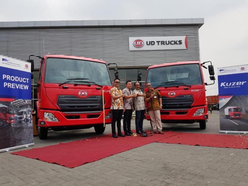 Astra UD Trucks yang memiliki sejarah selama 35 tahun dengan reputasi yang kokoh.