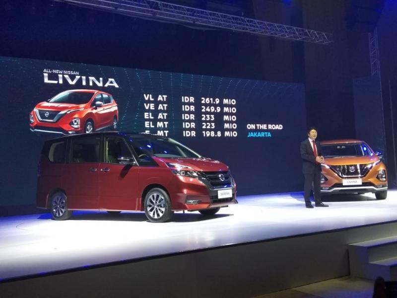 Pemesanan All New Nissan Livina dapat dilakukan mulai hari ini di 106 gerai Nissan di seluruh Indonesia.(anto)