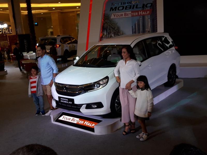 New Honda Mobilio siap mencuri hati konsumen dengan penyegaran interior dan eksterior