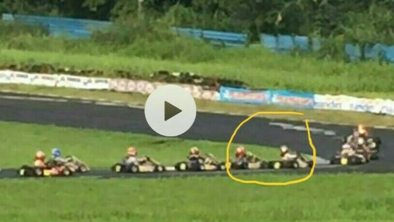 Rekaman video yang menunjukkan insiden antara Kanaka dan Kimi Rae. (foto : bs)