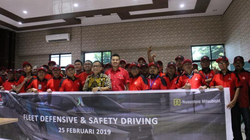 Rifat Drive Labs tingkatkan pemahaman safety driving para personel Aerotrans