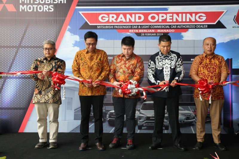 Diresmikan oleh Irwan Kuncoro selaku Director of Sales & Marketing Division PT MMKSI serta Dylan Tedja selaku President Director DETA Group.