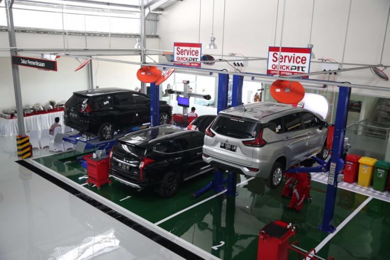 Diler baru Kendaraan Penumpang Mitsubishi di Kota Manado ini punya fasilitas 3S (Sales, Service and Spare Parts).