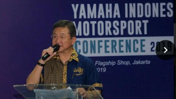 Minoru Morimoto, Presdir & CEO PT. Yamaha Indonesia Motor Mfg. (foto : ist)