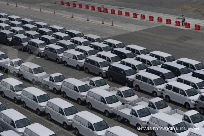 Suzuki APV menjadi model kendaraan dengan jumlah ekspor CBU tertinggi, yakni sebanyak 13.891 unit. (foto: istimewa / ANTARA)