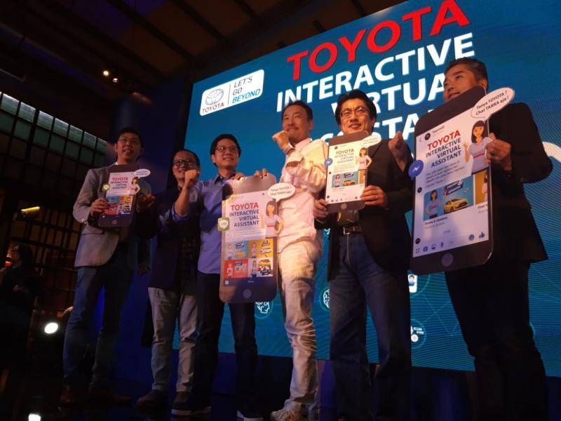 Toyota Indonesia resmi memperkenalkan layanan Toyota Interactive Virtual Assistant