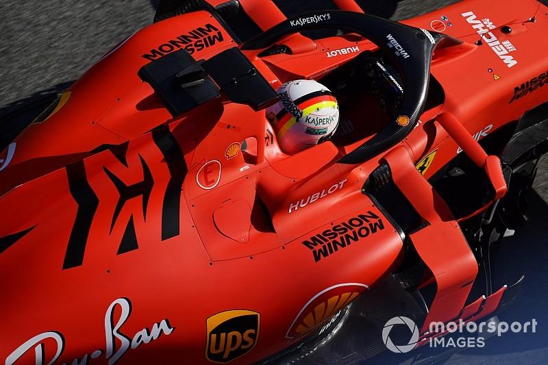 Logo Mission Winnow di mobil F1 Ferrari akan dicopot saat seri pembula F1 2019 Grand Prix Australia (ist)