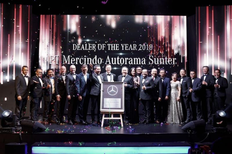 PT Mercindo Autorama adalah grup dealer yang mewakili dua outlet di Jakarta dan secara signifikan berkontribusi terhadap penjualan nasional.