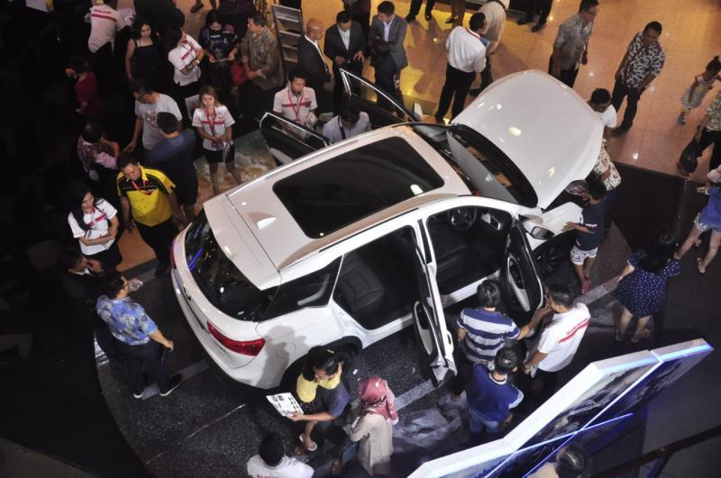 Konsumen juga dapat mencoba SUV ini serta model lainnya dalam pameran yang berlangsung pada 7-11 Maret 2019 di Java Mall.