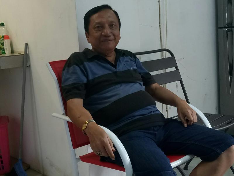 Irjen Purn Anang Boedihardjo, latihan Daffa AB dengan gokart Junior tetap penting dan positif. (foto : bs)