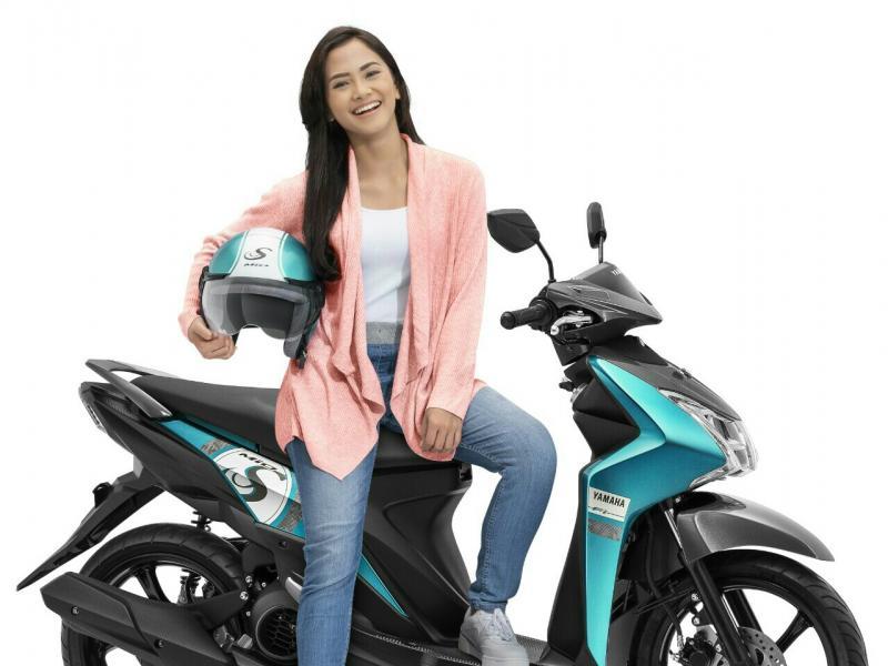 Yamaha Mio dengan warna baru, lebih memukau. (foto : ist)