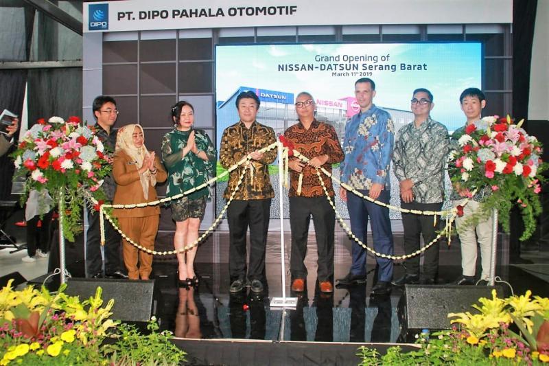 Outlet ini dikelola oleh PT Dipo Pahala Otomotif (DPO), yang merupakan mitra dealer resmi Nissan yang ke enam di Indonesia.