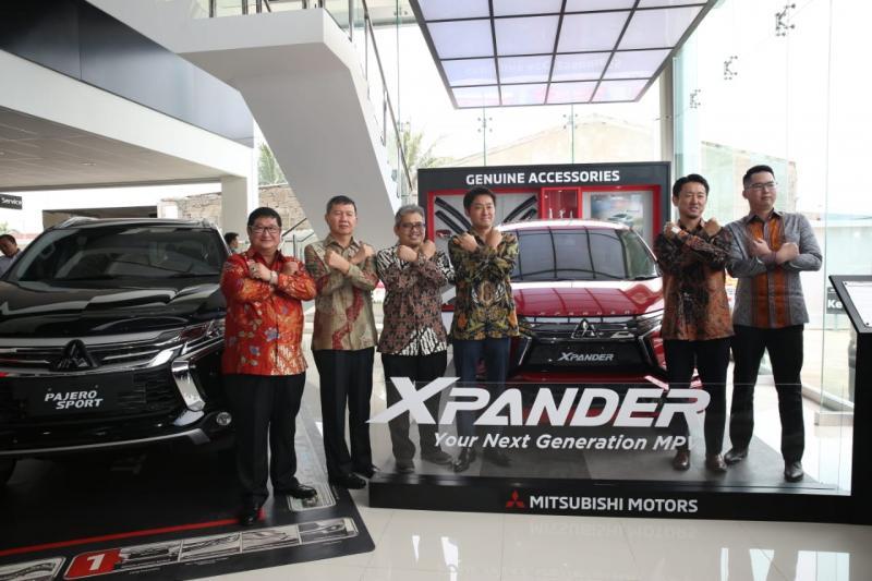 Resmikan outlet baru di Pondok Cabe, Mitsubishi punya banyak dealer di Tangerang Selatan