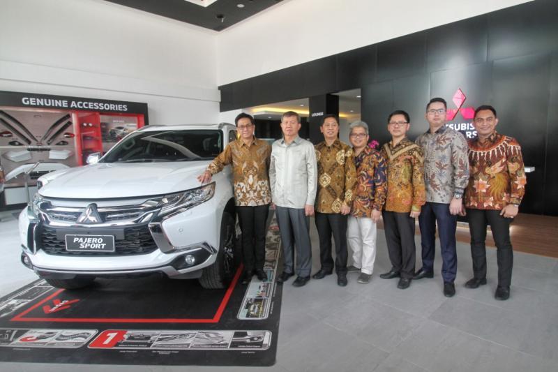 Mitsubishi Xpander dan Pajero Sport menjadi model andalan.