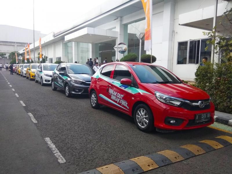All New Honda Brio Satya menyumbangkan penjualan terbesar dengan total 4.688 unit. (anto)