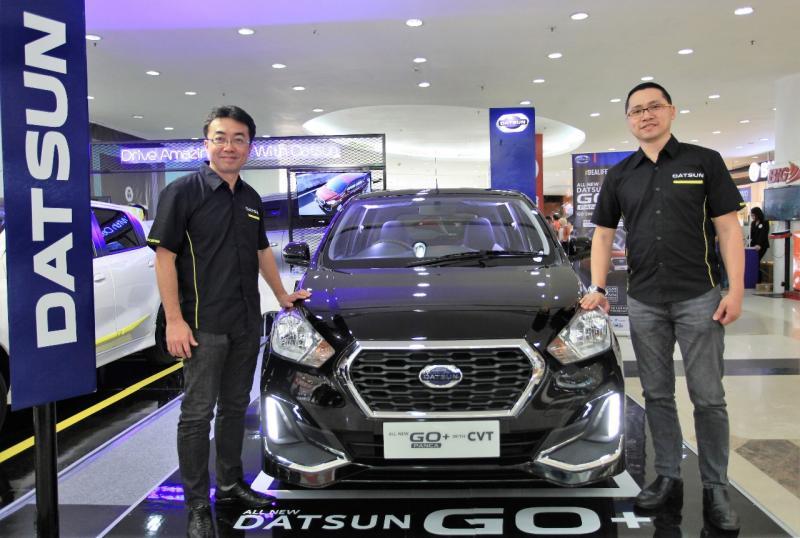 Datsun Indonesia akan menghadirkan New Datsun GO dan New Datsun GO+ serta model compact crossover Datsun CROSS. (ist)