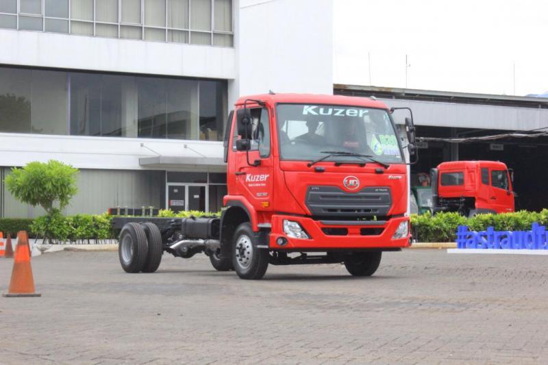 Penyediaan produk handal Kuzer bagi para pelaku usaha dilengkapi dengan kesiapan pelayanan aftermarket terbaik dari Astra UD Trucks.