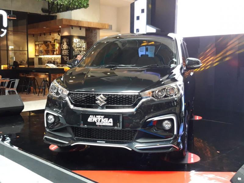 All New Ertiga Suzuki Sport makin agresif dengan ubahan eksterior dan interior