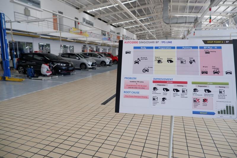 Saat ini layanan Body & Paint sudah ada di 22 cabang Auto2000 yang memiliki fasilitas BP.