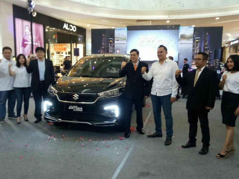 All New Suzuki Ertiga kini telah hadir di Yogyakarta. (foto : ist)