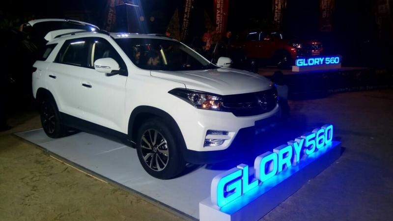 SUV DFSK Glory 560 siap meluncur di Jakarta pekan depan. (foto : rayhan)