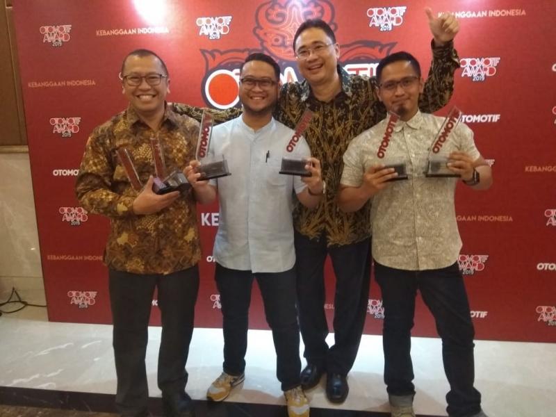 Manajemen TAM, apresiasi bagi Toyota dalam menghadirkan kebutuhan konsumen di Indonesia. (anto)