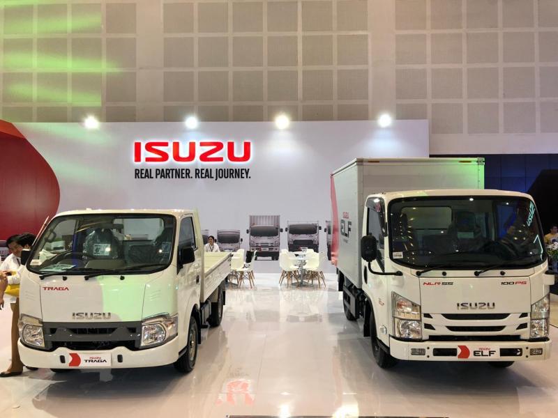 Hadir di GIIAS Surabaya 2019, Isuzu Indonesia boyong line up kendaraan komersial andalan