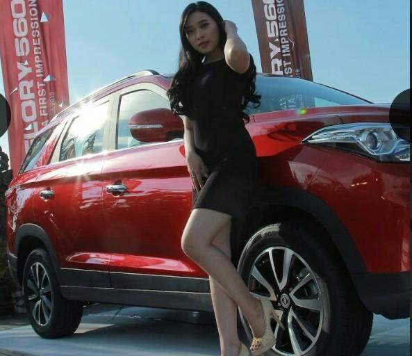 SUV terbaru DFSK Glory 560 saat diperkenalkan kepada media di Ancol, Jakarta Utara, Senin 25 Maret 2019. (foto : ist)