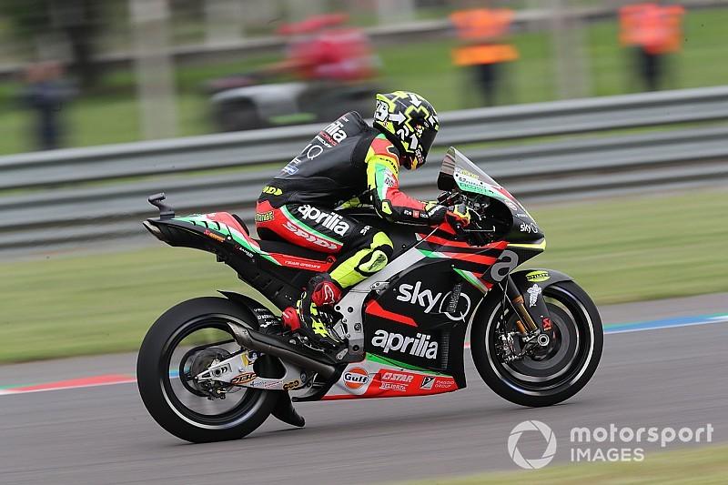 Pertama dalam karirnya, Andrea Iannone start dari posisi buncit (ist)