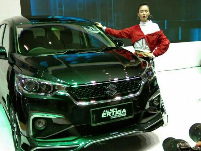 All New Ertiga Suzuki Sport diperkenalkan di Surabaya. (foto: ist)