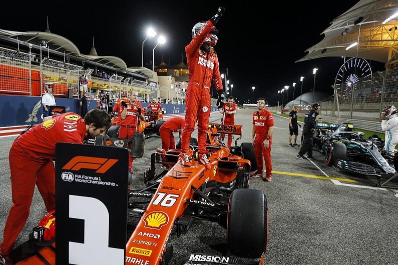 Charles Leclerc rebut pole position di F1 Grand Prix Bahrain (ist)