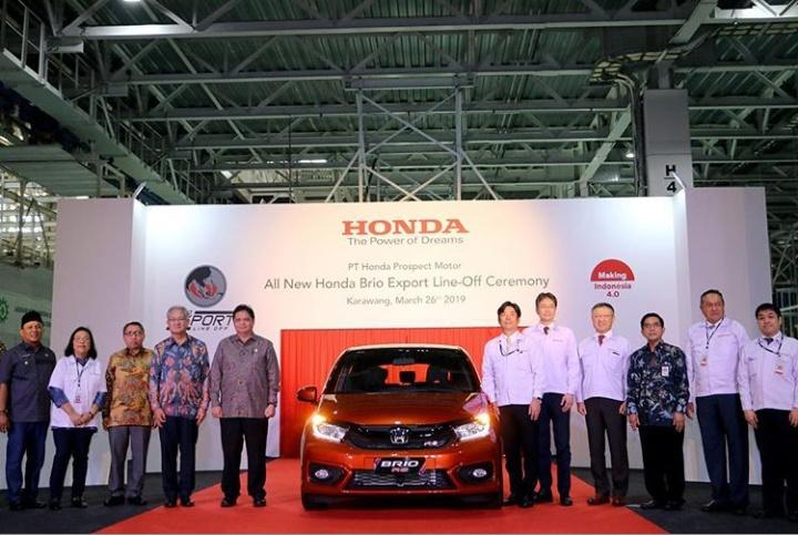 Menperin menyebut produk otomotif nasional telah diakui kompetitif di kancah internasional. (foto: Kemenperin)