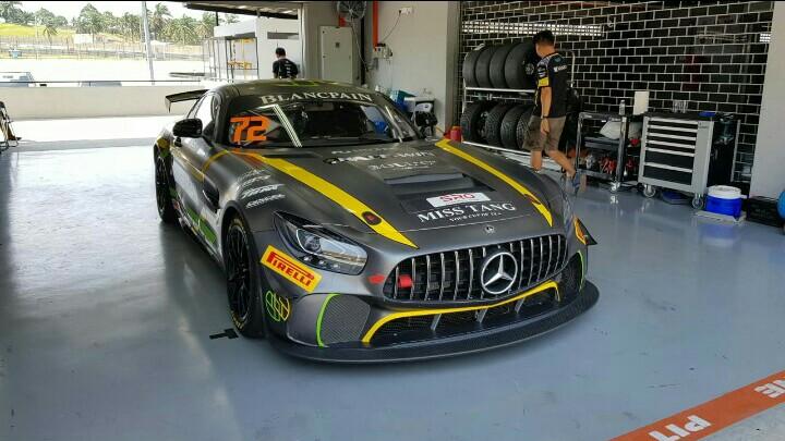 Setiawan Santoso andalkan AMG GT4 di sirkuit Sepang Malaysia. (foto : ist)