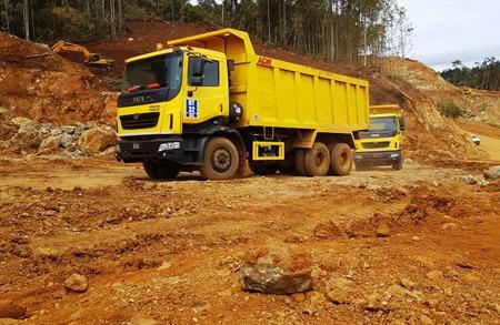 Truk Tata Prima menjadi pilihan karena spesifikasinya berada di atas rata-rata truk lainnya. (foto: ist)