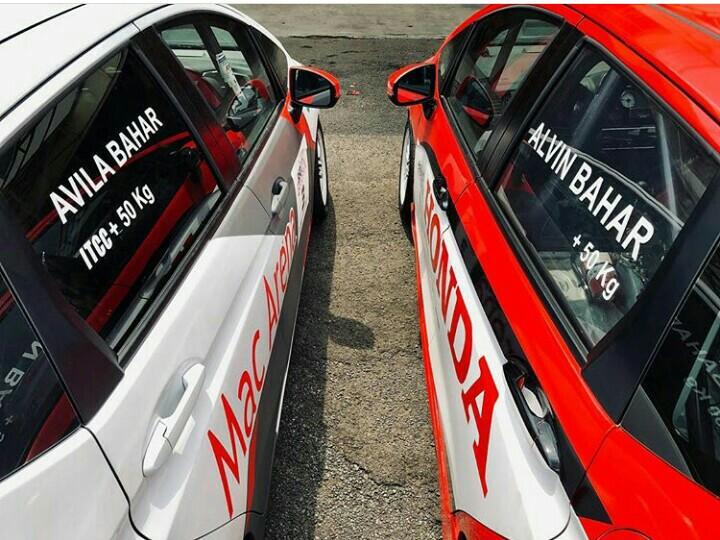 Mobil balap anak - bapak Avila dan Alvin Balap akan ikut parade di IIMS 2019. (foto : ig alv)