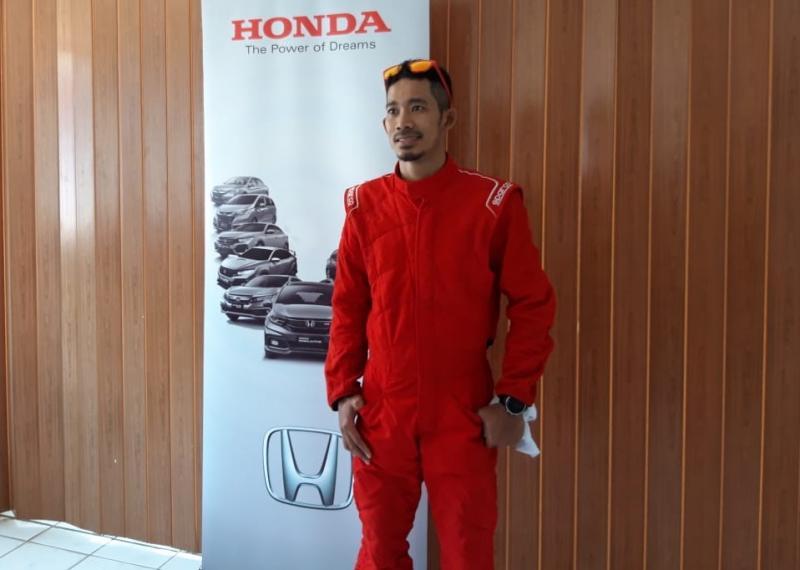 M Fadli jadi penantang di Honda Jazz Speed Challenge (HJSC) 2019