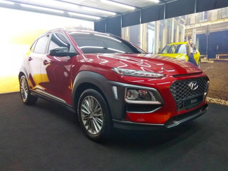 IIMS 2019 di Hall A-6 mulai tanggal 25 April 2019 jadi Public Launching All New Hyundai Kona.(anto)