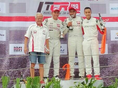 Duo TTI kuasai podium, Yoshihiro Nakata, Toyota Team Indonesia, ITCR 16 Max, ISSOM 2019