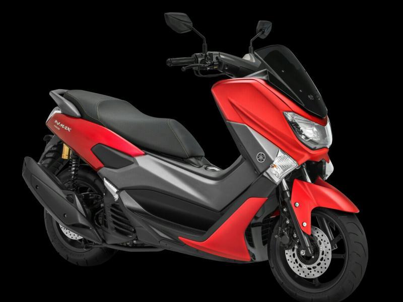 Yamaha NMax Matte Red dengan harga Rp 27 jutaan on the road. (foto : ist)