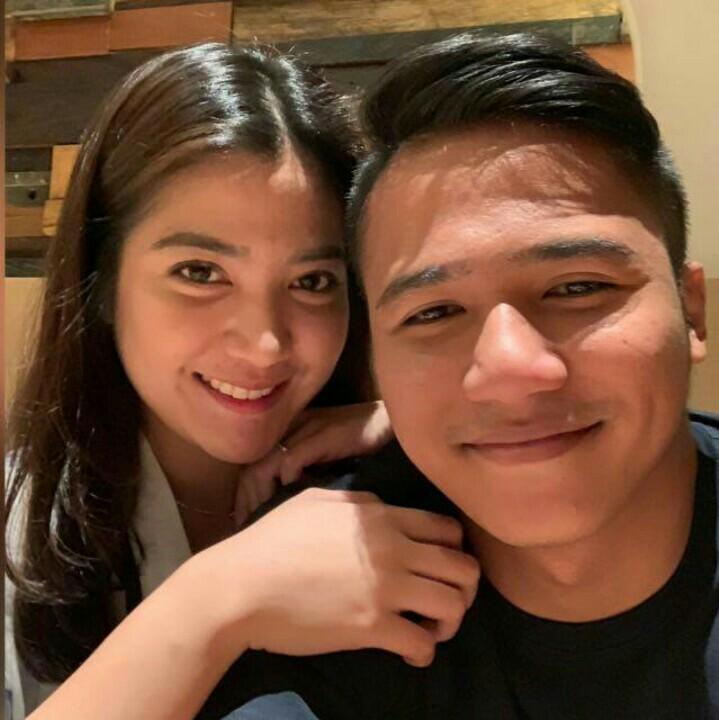 Amandio bersama calon istri tercintanya, resepsi Sabtu, 20 April di Jakarta.  (foto : ist)