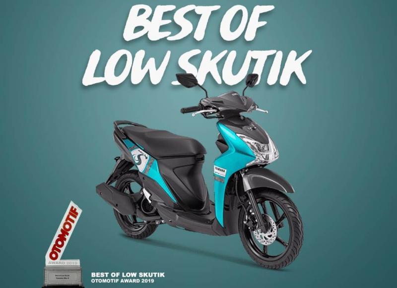 Yamaha Mio S dapatkan penghargaan sebagai Best of low Skutik