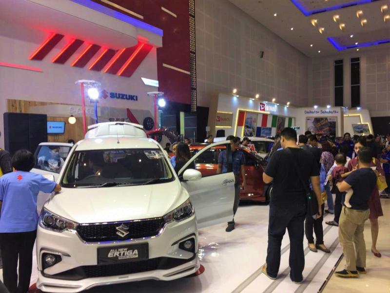 All New Ertiga Suzuki Sport jadi primadona di GIIAS Surabaya 2019. (foto : ist)