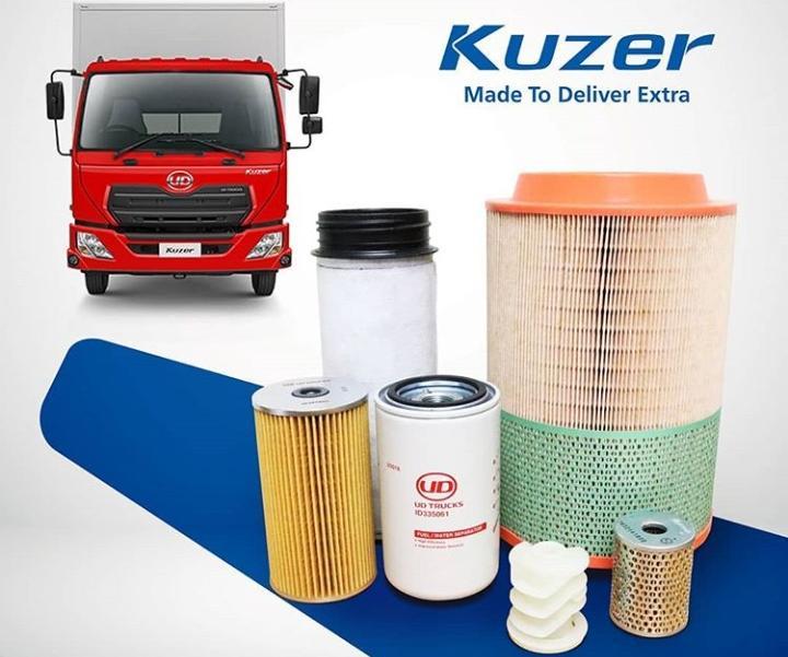 Astra UD Truck menyediakan pula paket suku cadang asli dengan harga ekonomis.