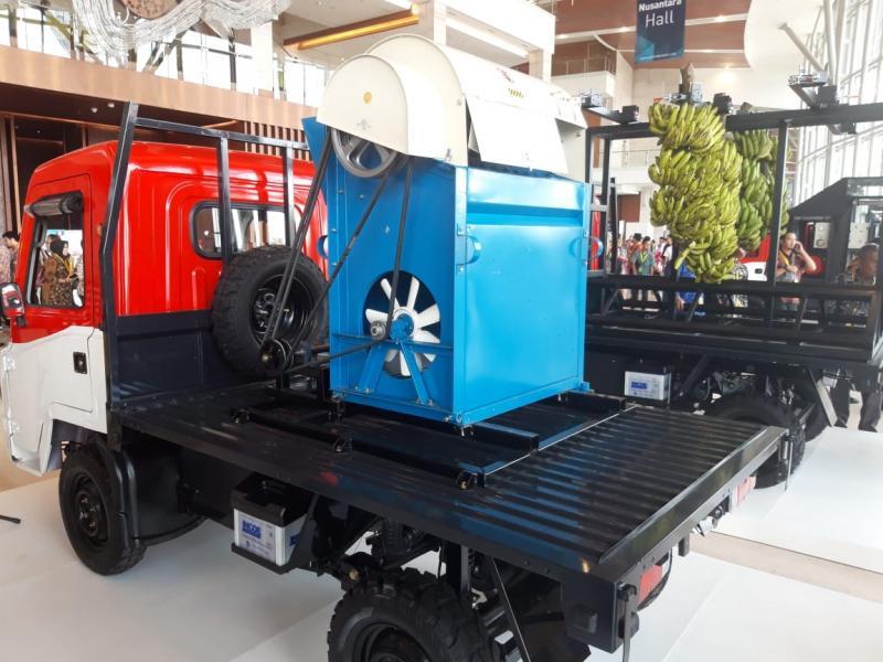 Mobil AMMDes bisa diaplikasikan untuk beragam kebutuhan mulai dari pertanian, perikanan, kesehatan, dan tanggap bencana