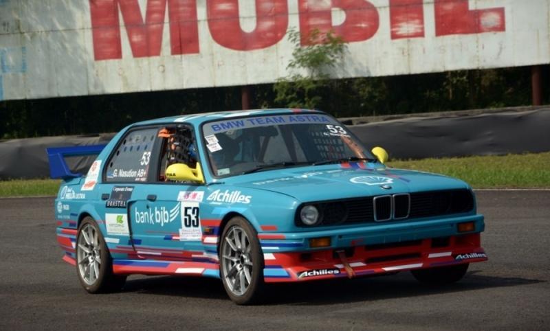 Gerry Nasution, pembalap senior yang memperkuat BMW Team Astra di ISSOM 2019