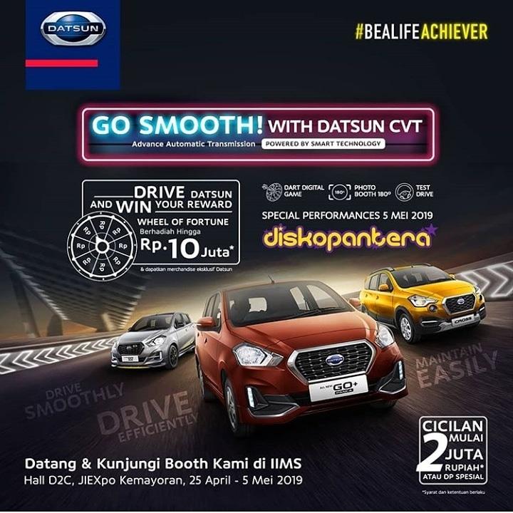 Promonya berupa program khusus pembelian mobil Datsun semua model.