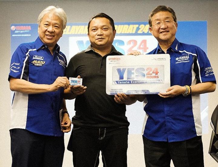 YES24 merupakan layanan 24 jam yang ditujukan buat konsumen premium Yamaha. (yamahaindonesia)