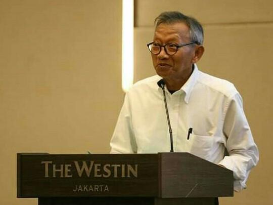 Bambang Trisulo puji Telkomsel IIMS 2019 yang menampilkan berbagai element. (foto : tony)